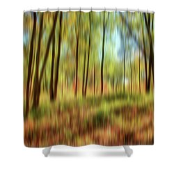 Forest Vision Shower Curtain