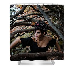 Forest Witch Shower Curtain