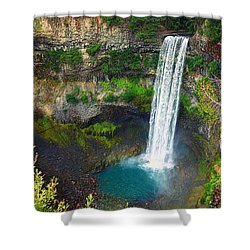 Brandywine Falls, Bc Shower Curtain by Heather Vopni