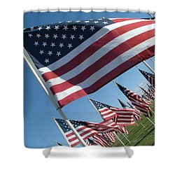 Forever Flags Shower Curtain