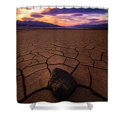 Forever More Shower Curtain by Bjorn Burton