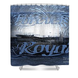 Shower Curtain featuring the photograph Forever Royal by Andee Design