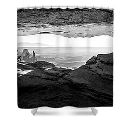 Forever View Shower Curtain
