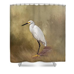 Shower Curtain featuring the photograph Forever Watching by Kim Hojnacki
