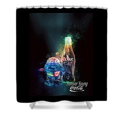 Forever Young Coca-cola Shower Curtain