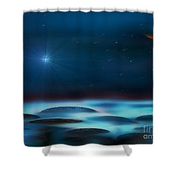 Wishing Shower Curtain