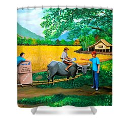 Forex 1 Shower Curtain