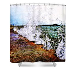 Forgive And Find Freedom Shower Curtain