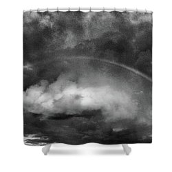 Forgiven Shower Curtain by Steven Huszar