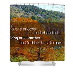 Forgiveness1 Shower Curtain