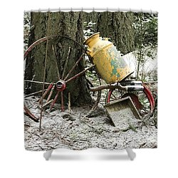 Forgotten By Time Shower Curtain