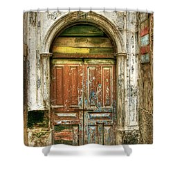 Forgotten Doorway Shower Curtain