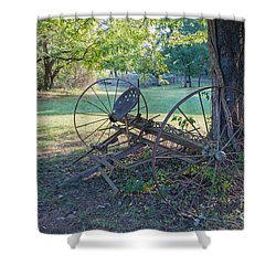 Forgotten Farm Shower Curtain by Kevin McCarthy