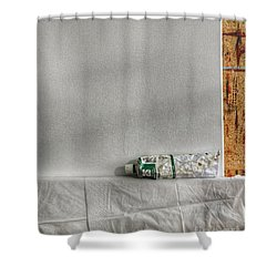 Forgotten Shower Curtain