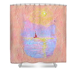 Forgotten Joy Shower Curtain by Donna Blackhall