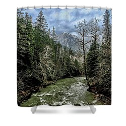 Forgotten Mountain Shower Curtain
