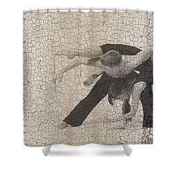 Forgotten Romance  Shower Curtain by Naxart Studio