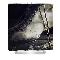 Shower Curtain featuring the photograph Forgotten Winter by Amy Weiss