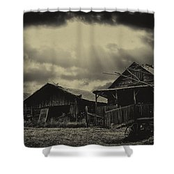 Forgotten Years Shower Curtain by B Wayne Mullins
