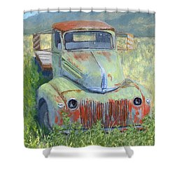 Forlorn Ford Shower Curtain