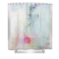 Forlorn Me Shower Curtain