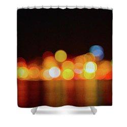 Form Alki - Unfocused Shower Curtain