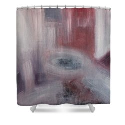 Form And Content Shower Curtain