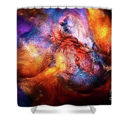 Formation Abstract Shower Curtain
