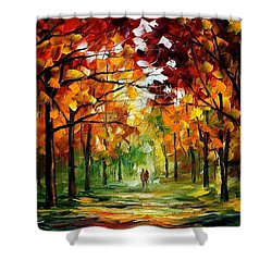 Forrest Of Dreams Shower Curtain by Leonid Afremov