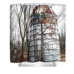 Shower Curtain featuring the photograph Forsaken by Richard Bean
