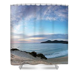 Forster One Mile Beach Shower Curtain