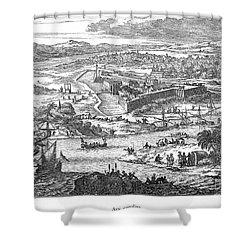 Fort Caroline, 1673 Shower Curtain by Granger