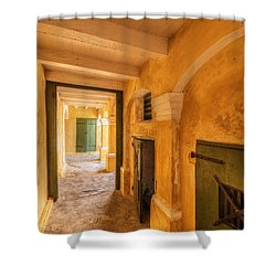 Fort Christianson Shower Curtain