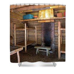 Fort Clatsop Living Quarters Shower Curtain