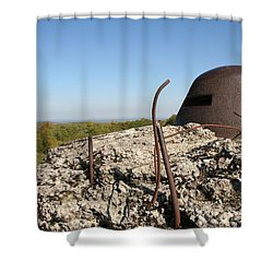 Shower Curtain featuring the photograph Fort De Douaumont - Verdun by Travel Pics