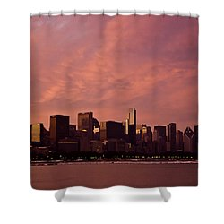 Fort Dearborn Shower Curtain