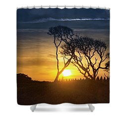 Fort Fisher Sky Watch Shower Curtain