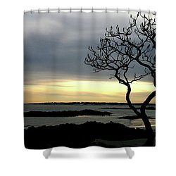 Fort Foster Shower Curtain