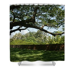 Fort Galle Shower Curtain by Christian Zesewitz