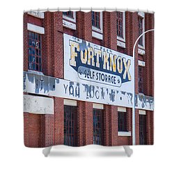 Fort Knox Shower Curtain by Serene Maisey