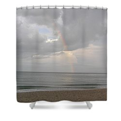 Shower Curtain featuring the photograph Fort Lauderdale Rainbow by Patricia Piffath