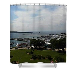Fort Mackinac Shower Curtain