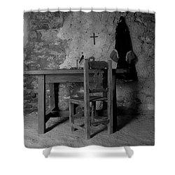 Fort Matanzas Sixteenth Century Shower Curtain by David Lee Thompson
