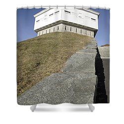 Fort Mcclary - Kittery Maine Usa Shower Curtain by Erin Paul Donovan