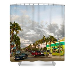 Fort Meyers, Florida Shower Curtain