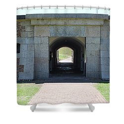 Fort Moultrie Shower Curtain
