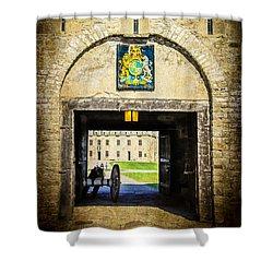Fort Niagara Entranceway Shower Curtain