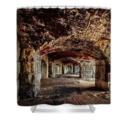 Fort Popham Shower Curtain