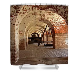 Fort Pulaski II Shower Curtain by Flavia Westerwelle