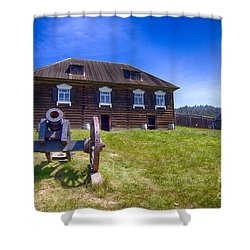 Fort Ross State Historic Park Shower Curtain